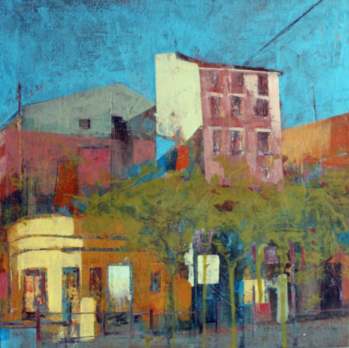 Mural Wall  Pintura de JENNY FERMOR   Compra arte en Flecha.es