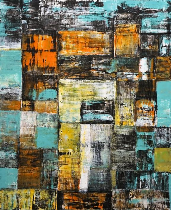 Reflexión |Pintura de Eddy Miclin | Compra arte en Flecha.es
