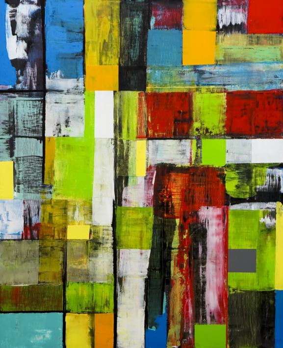 Nuevo pixel  Pintura de Eddy Miclin   Compra arte en Flecha.es