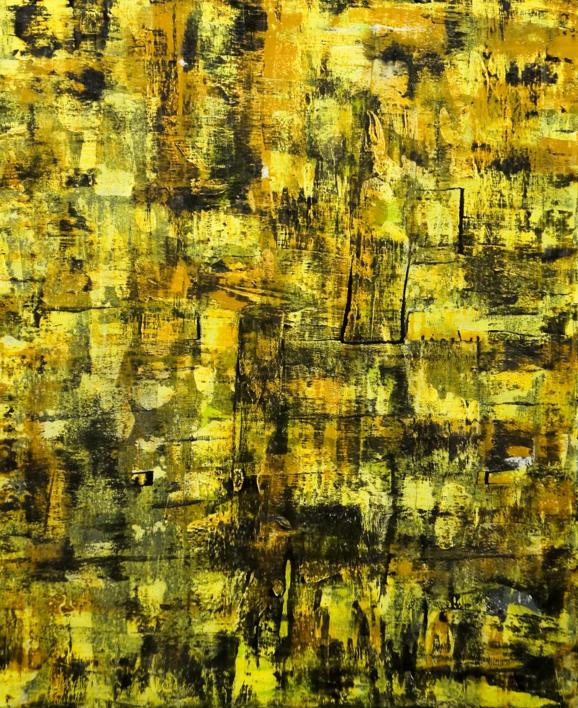 Huellas  Pintura de Eddy Miclin   Compra arte en Flecha.es