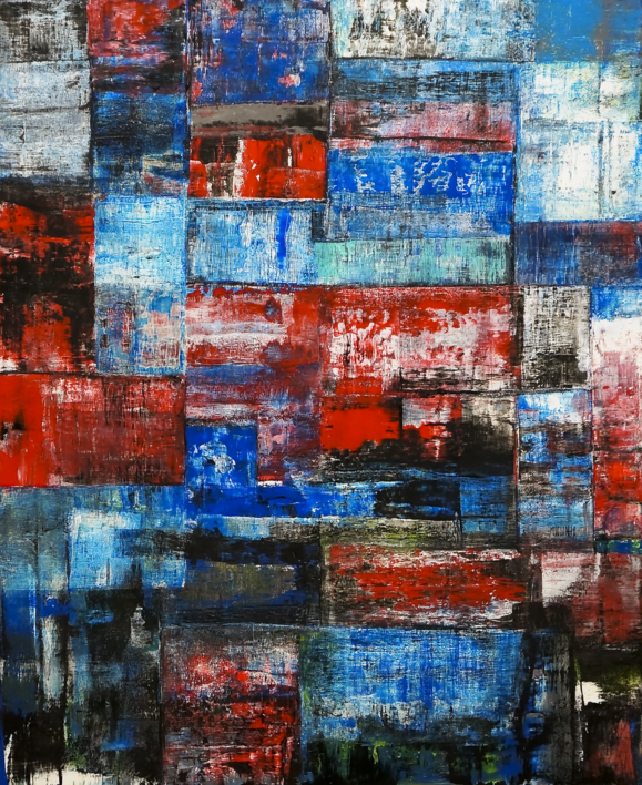 R.G.B. |Pintura de Eddy Miclin | Compra arte en Flecha.es