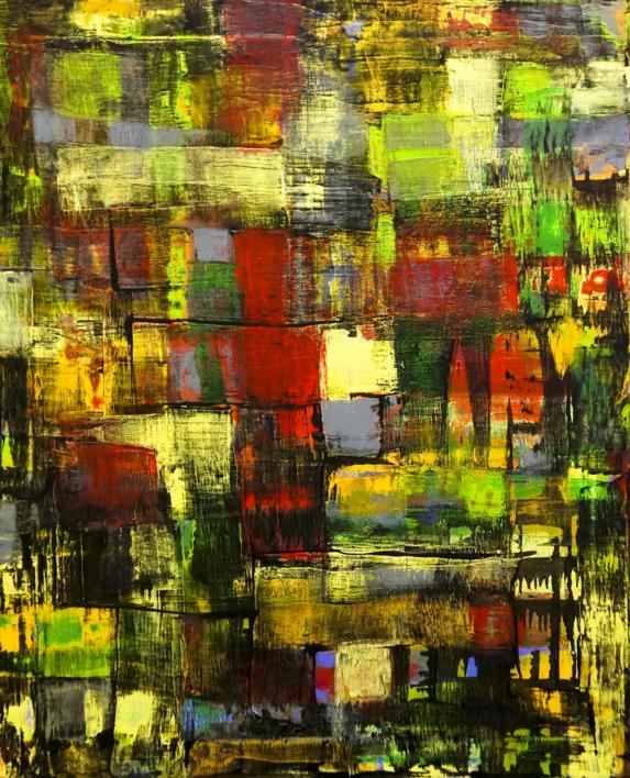 Vitral |Pintura de Eddy Miclin | Compra arte en Flecha.es