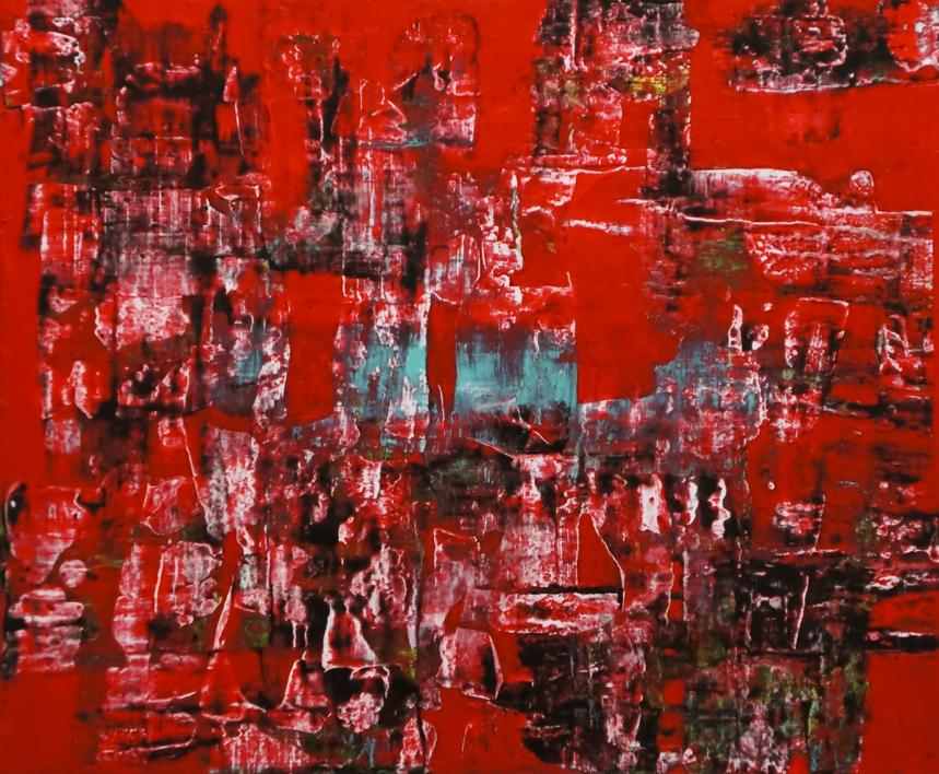Laberinto |Pintura de Eddy Miclin | Compra arte en Flecha.es