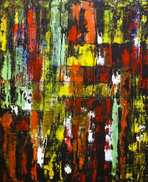 A través del cristal  Pintura de Eddy Miclin   Compra arte en Flecha.es