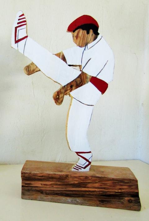 Aurresku 1 |Escultura de Miguel Costales | Compra arte en Flecha.es
