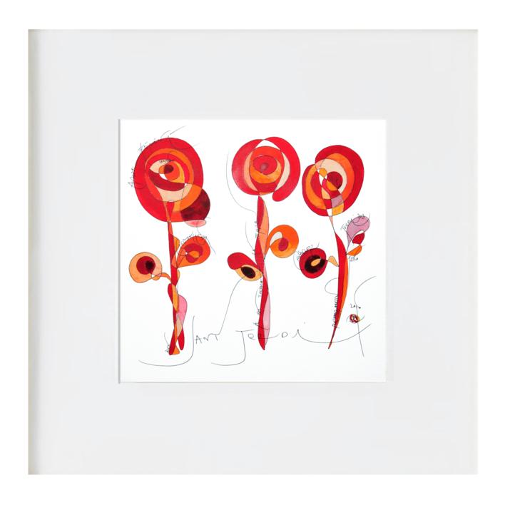Cavaller Rosa Sant Jordi  - Cabllero Rosa San Jorge |Ilustración de RICHARD MARTIN | Compra arte en Flecha.es