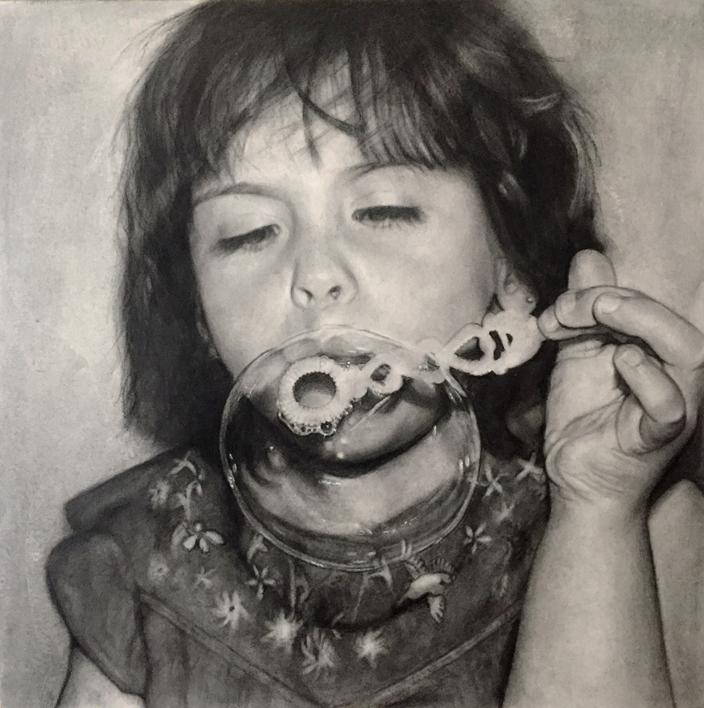 Jimena  Dibujo de ISABEL  AVILA   Compra arte en Flecha.es
