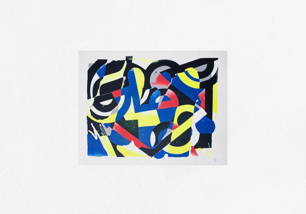 Distancia Social 3 |Pintura de Mr. Simon | Compra arte en Flecha.es