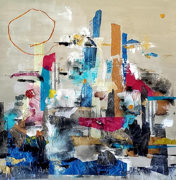 Allegra  Collage de Florencia Zampieri   Compra arte en Flecha.es