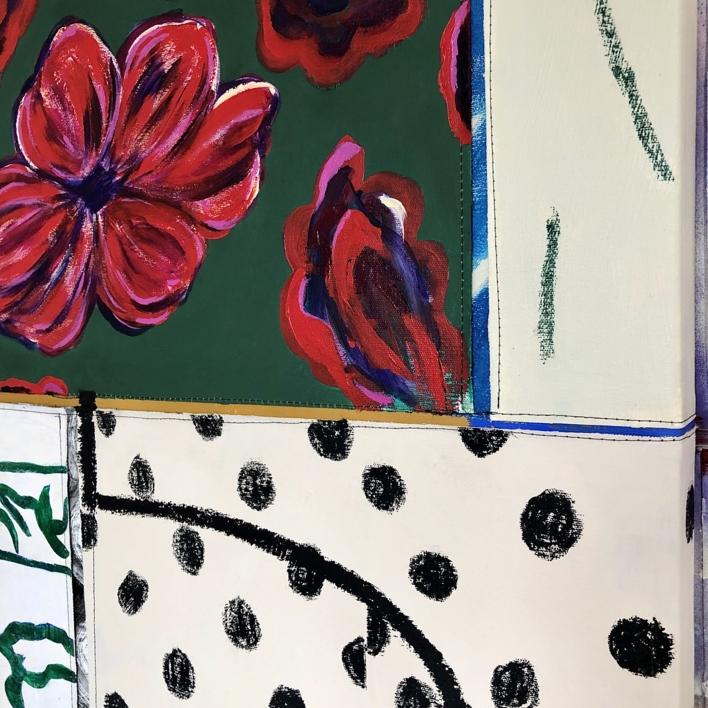Floral Arrangement n.10   Pintura de Nadia Jaber   Compra arte en Flecha.es
