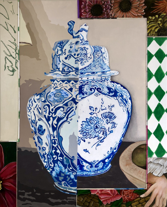 Floral Arrangement n.11 |Pintura de Nadia Jaber | Compra arte en Flecha.es