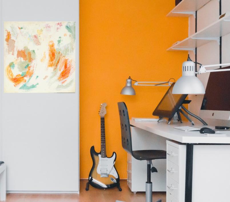 Abstracción 55 | Pintura de Susana Sancho | Compra arte en Flecha.es