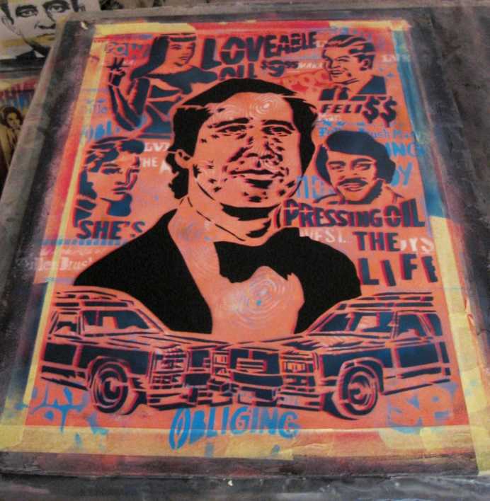 Chasing Chevy | Obra gráfica de Carlos Madriz | Compra arte en Flecha.es