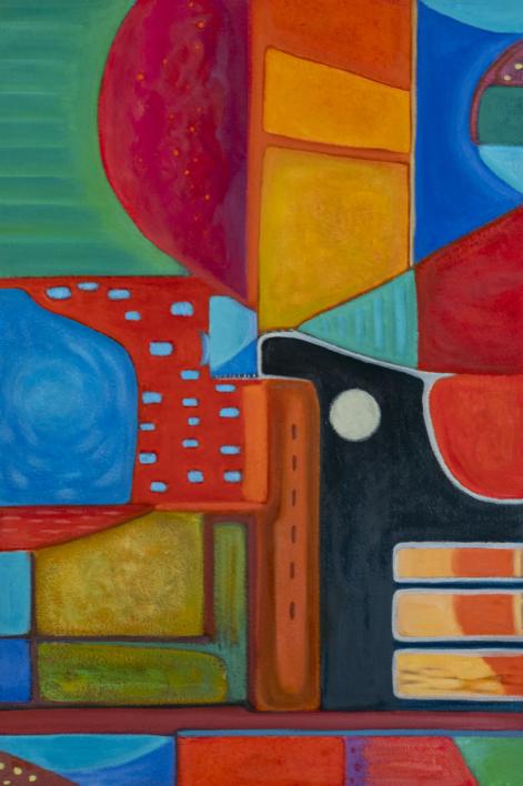 Variaciones geométricas VII |Pintura de Helena Revuelta | Compra arte en Flecha.es