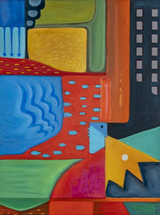 Variaciones geométricas VIII |Pintura de Helena Revuelta | Compra arte en Flecha.es