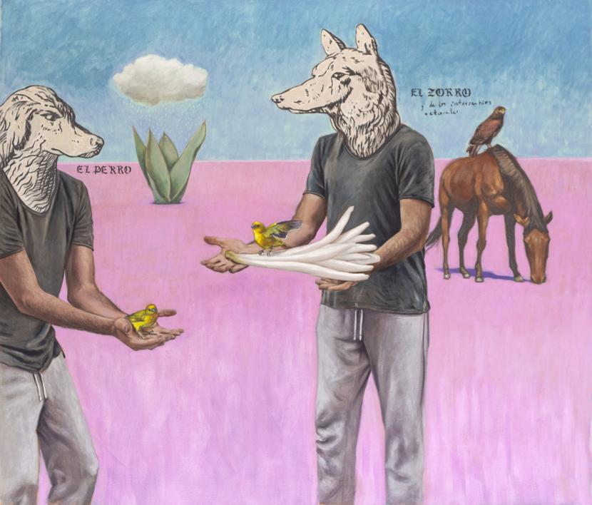 Del intercambio divino  Pintura de Juan Mateo Cabrera   Compra arte en Flecha.es