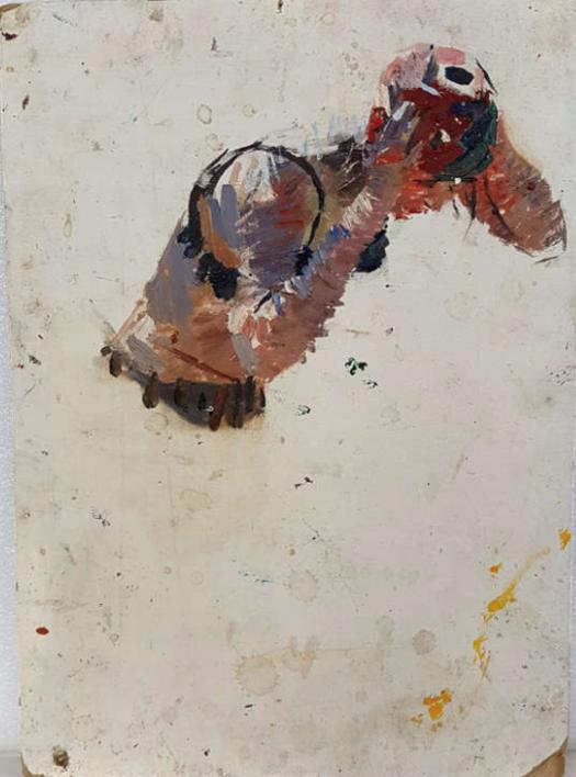 In the swimming pool 5 |Pintura de Shponko Gregori Andreevich | Compra arte en Flecha.es