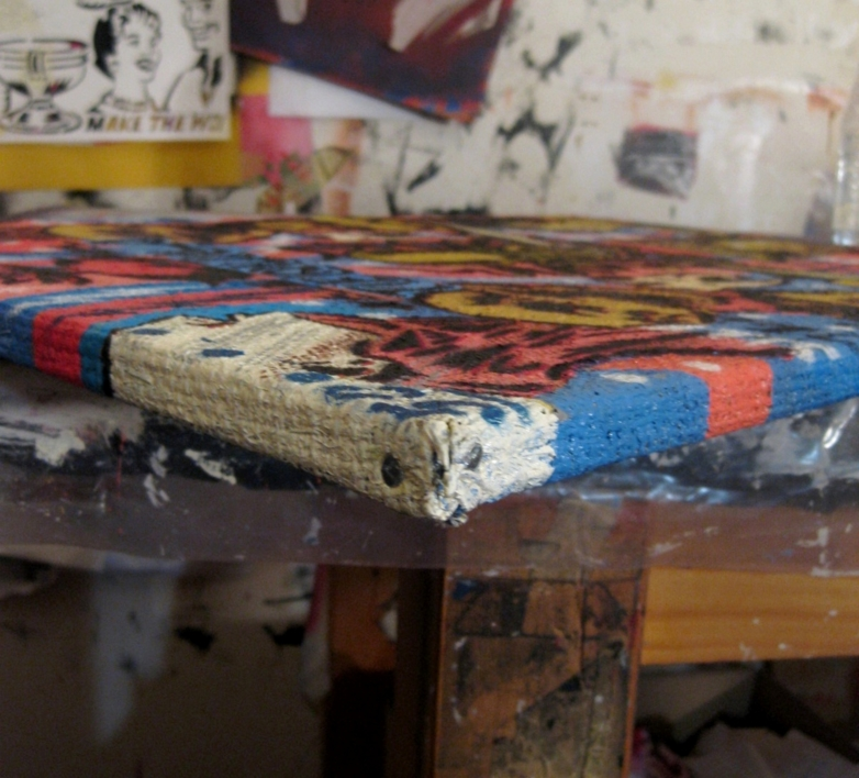 Piaceri II (Tequila)   Pintura de Carlos Madriz   Compra arte en Flecha.es