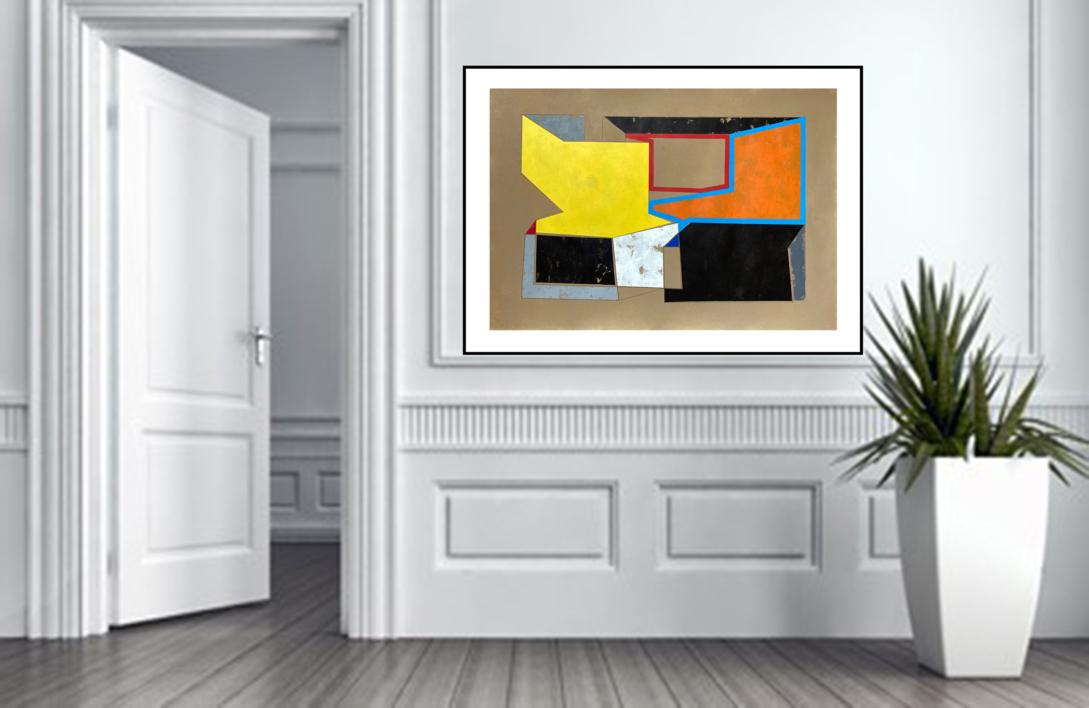 Xi B   Pintura de Luis Medina   Compra arte en Flecha.es