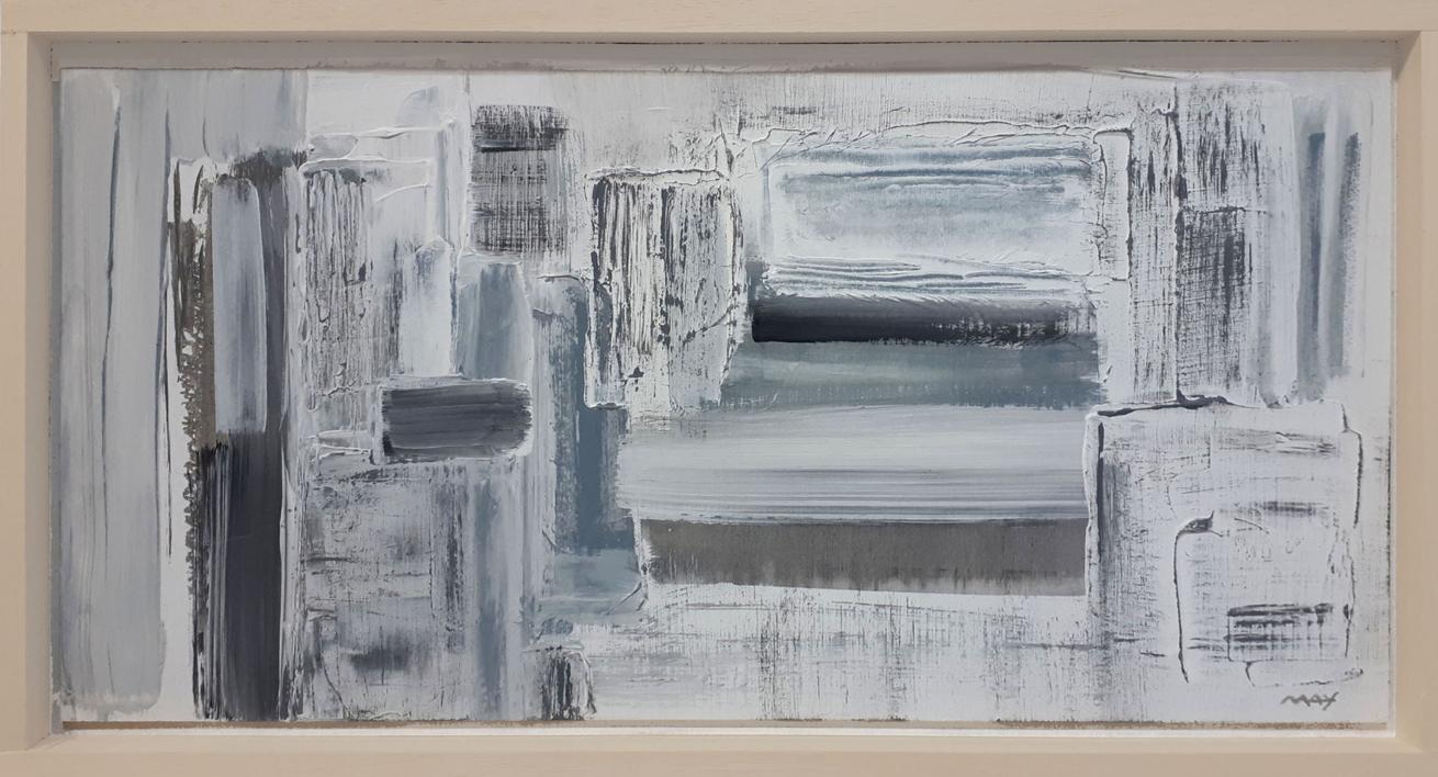 Composición XVIII |Pintura de May Pérez | Compra arte en Flecha.es