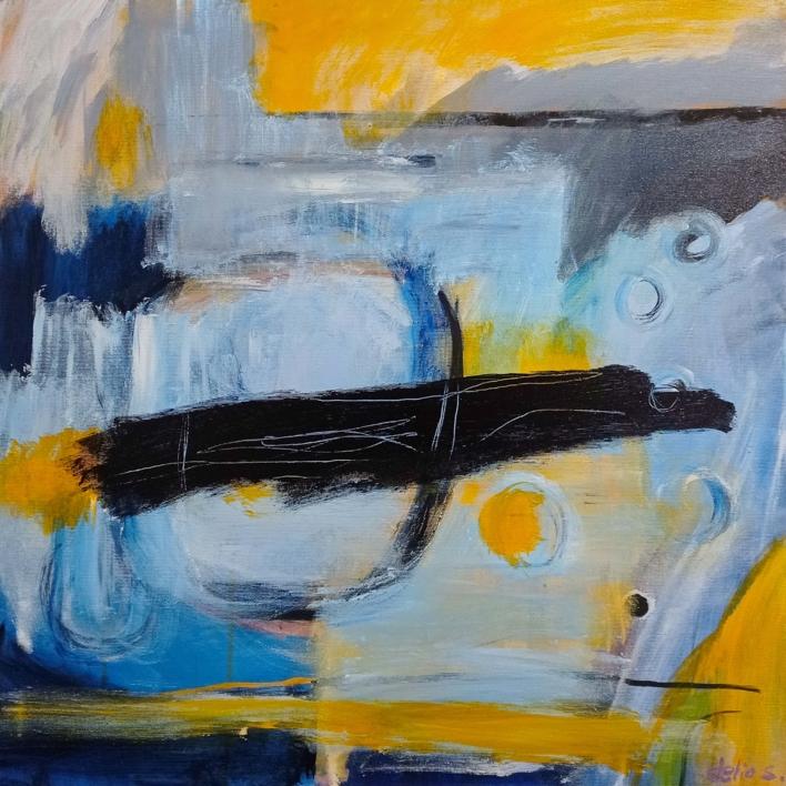 MOODS ( Serie ) |Pintura de Delio Sánchez | Compra arte en Flecha.es
