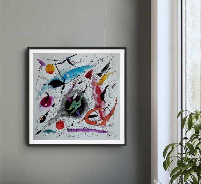 PIANO CONCERTO NO 2 II LARGHETTO | Pintura de Valeriano Cortázar | Compra arte en Flecha.es