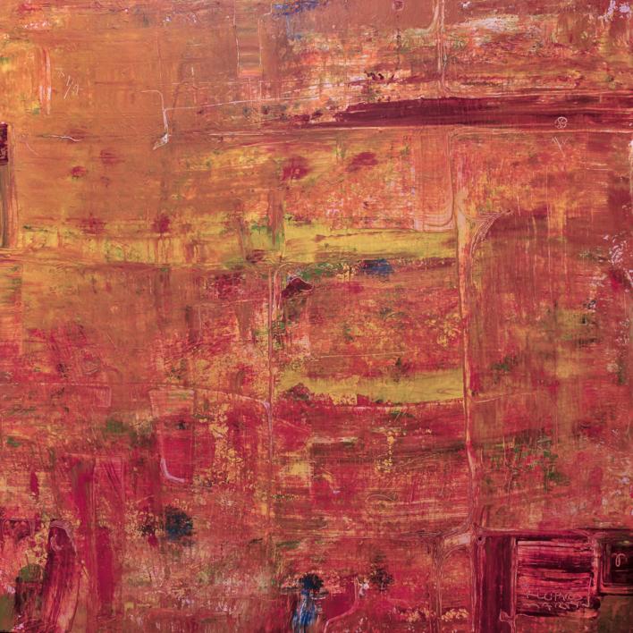 La escalera infinita - curvisme 401 |Pintura de RICHARD MARTIN | Compra arte en Flecha.es