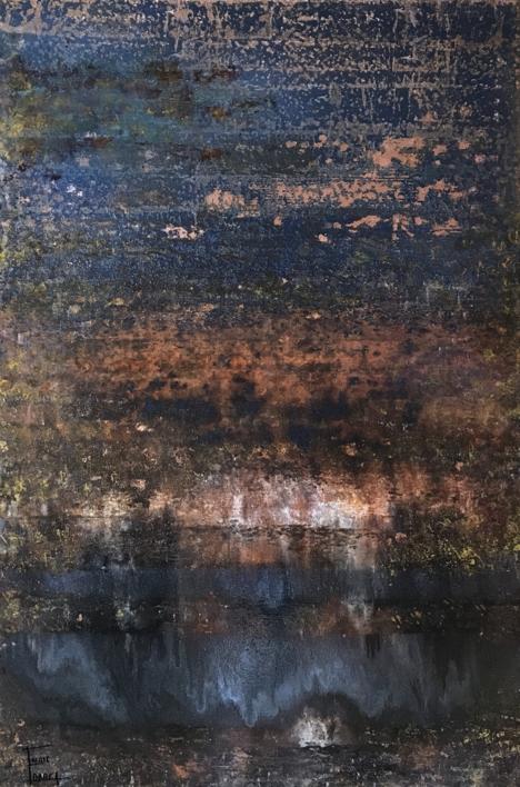 Erupción III |Pintura de Enric Correa | Compra arte en Flecha.es