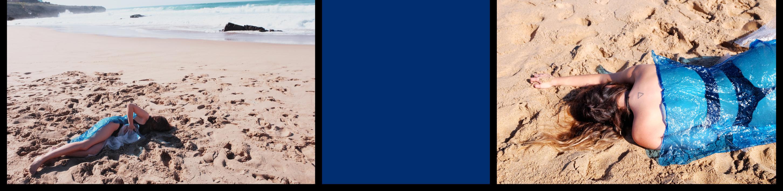 Cuerpo raro en azul marino 1 & 2   Digital de Lisa   Compra arte en Flecha.es