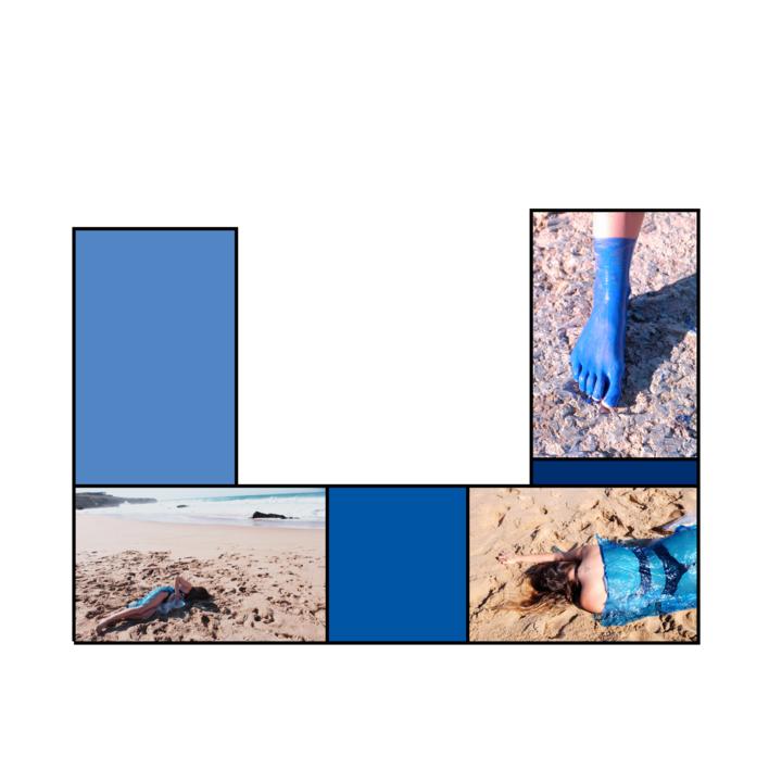 Cuerpo raro en azul marino # 2 |Digital de Lisa | Compra arte en Flecha.es