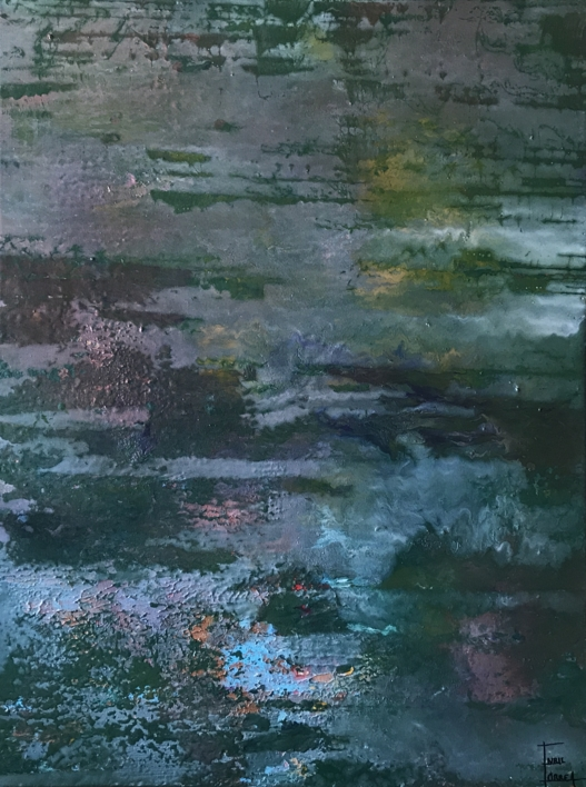 Humedales |Pintura de Enric Correa | Compra arte en Flecha.es