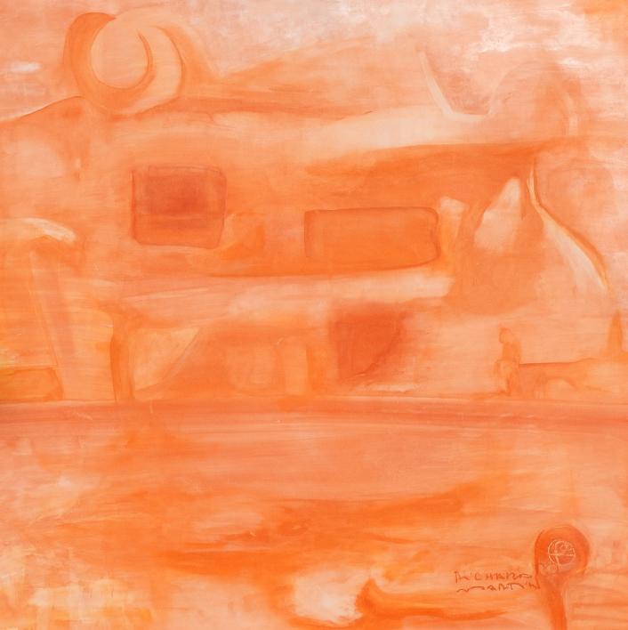 Curvisme - 408 |Pintura de RICHARD MARTIN | Compra arte en Flecha.es
