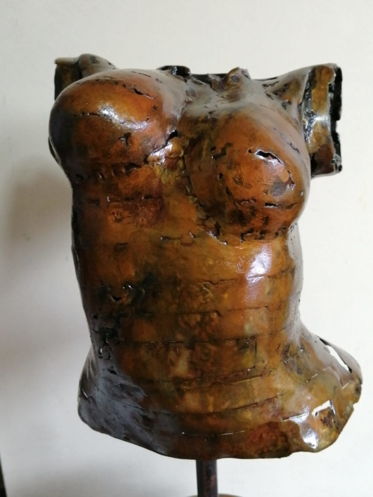 FRAGMENTO DE OBRA - GEA |Escultura de Pablo Rebollo Pérez | Compra arte en Flecha.es