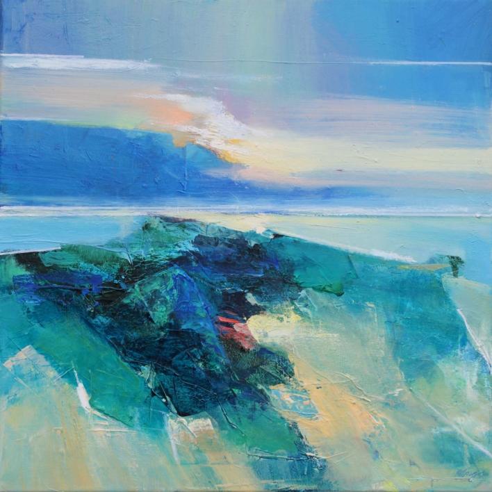 Ocean Light 1 |Pintura de Magdalena Morey | Compra arte en Flecha.es