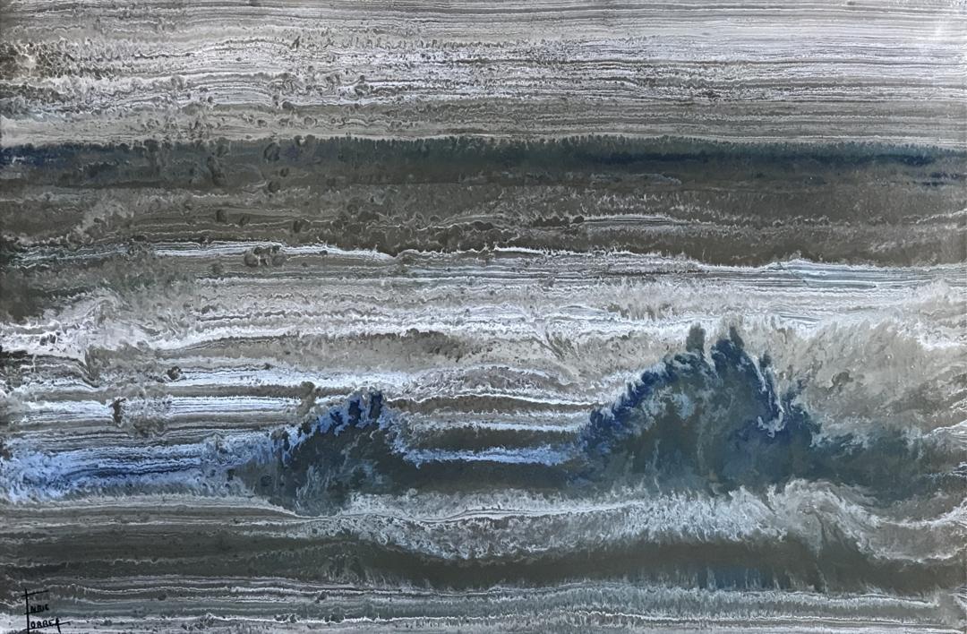 Mar del Norte |Pintura de Enric Correa | Compra arte en Flecha.es