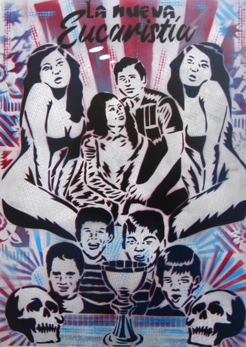 La Nueva Eucaristía |Pintura de Carlos Madriz | Compra arte en Flecha.es