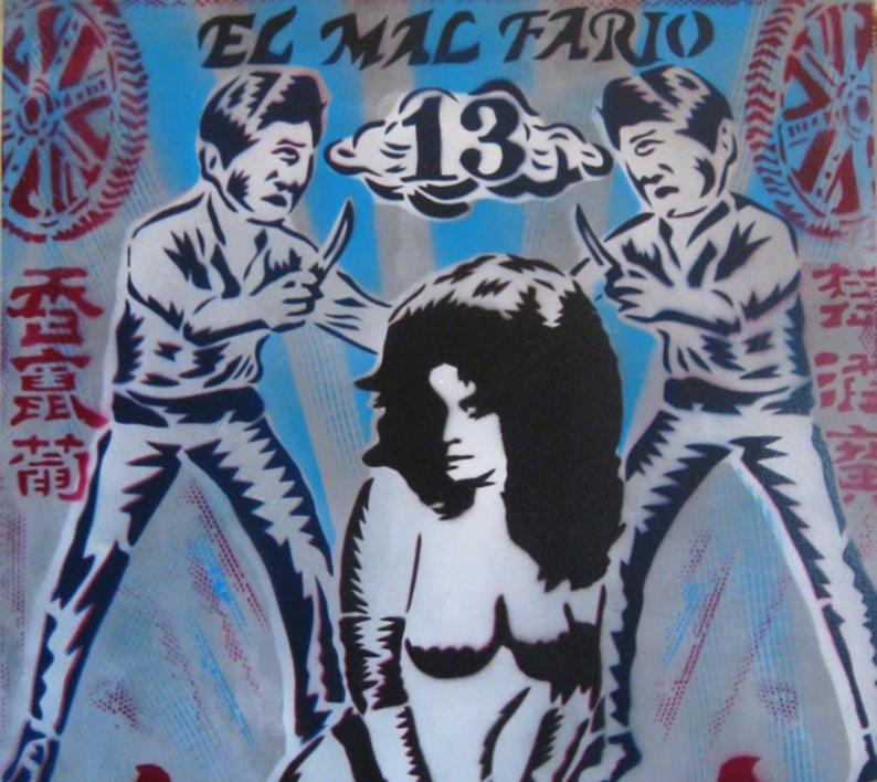 El Mal Fario | Pintura de Carlos Madriz | Compra arte en Flecha.es