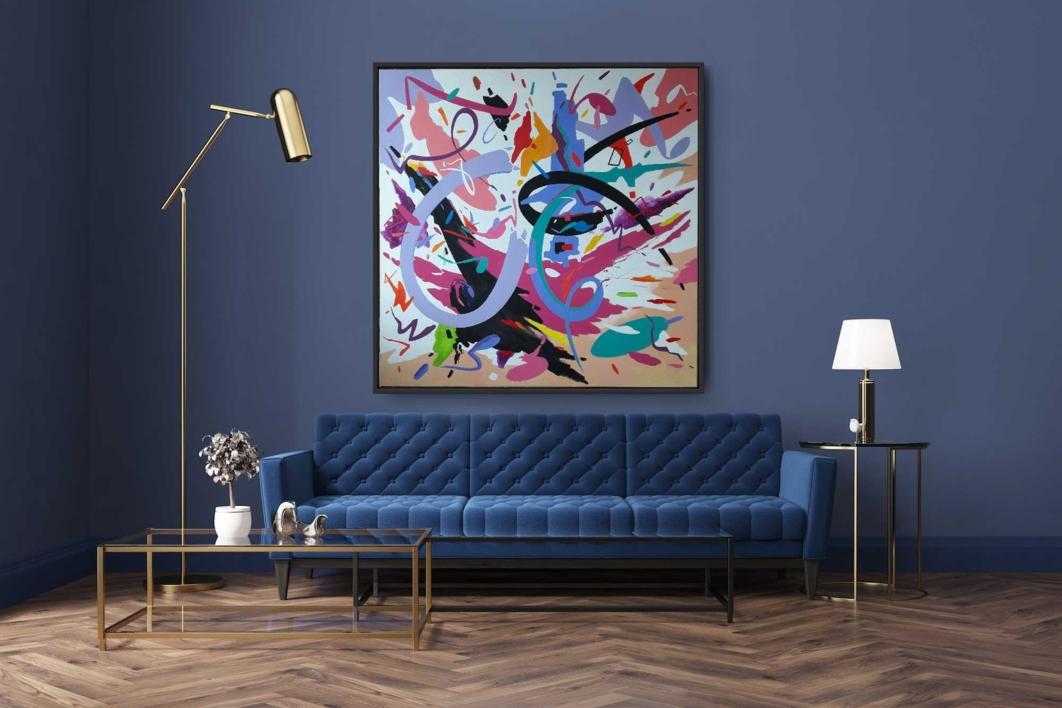 WALTZ  NO 2  SHOSTAKOVICH   Pintura de Valeriano Cortázar   Compra arte en Flecha.es