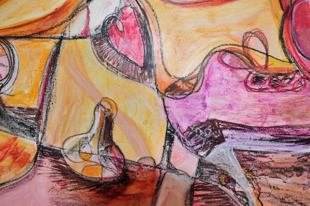 Hiperrealidad - curvisme 410   Pintura de RICHARD MARTIN   Compra arte en Flecha.es