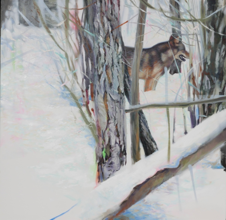 Cuando llega el invierno |Pintura de María Durá | Compra arte en Flecha.es