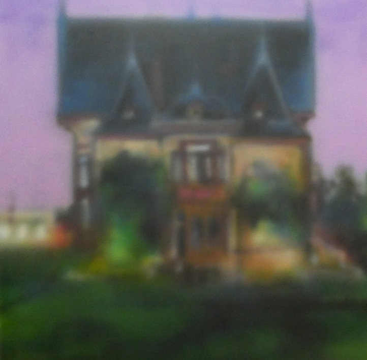 metrópolis nº 56 |Pintura de saiz manrique | Compra arte en Flecha.es