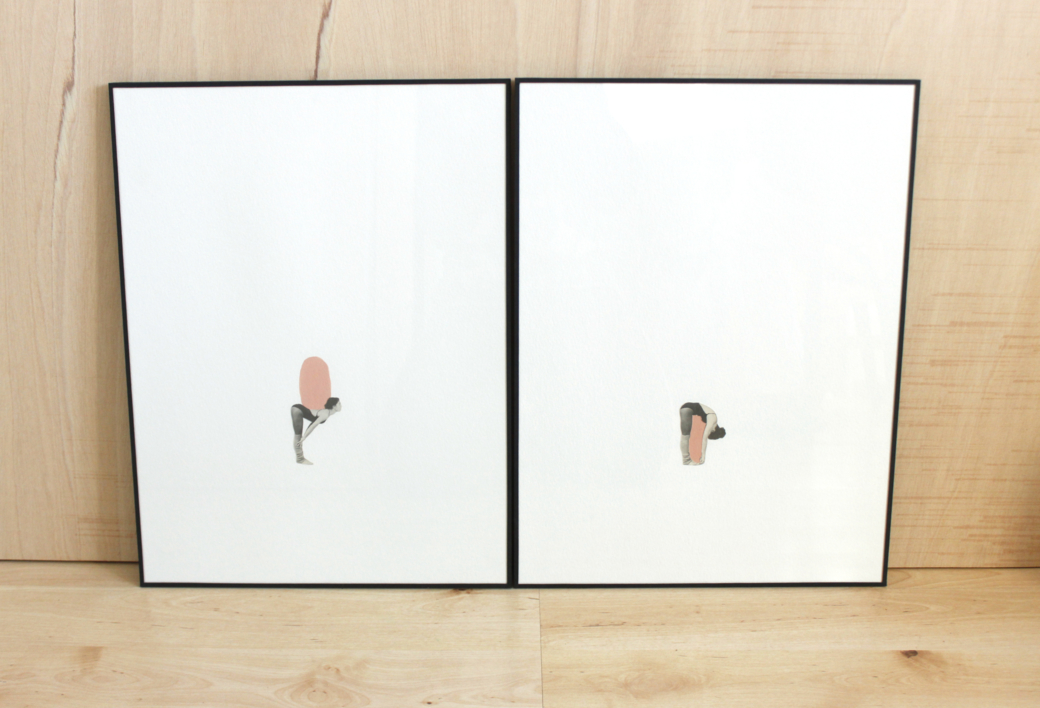 Jugar con el espacio II |Collage de Adriana Gurumeta | Compra arte en Flecha.es