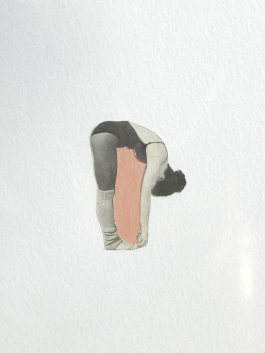 Jugar con el espacio II | Collage de Adriana Gurumeta | Compra arte en Flecha.es