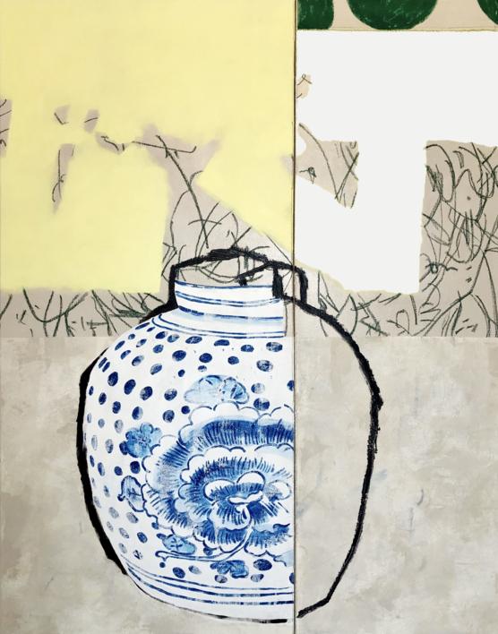 Floral Arrangement n.12 |Pintura de Nadia Jaber | Compra arte en Flecha.es