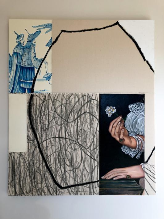 Floral Arrangement n.13 | Pintura de Nadia Jaber | Compra arte en Flecha.es
