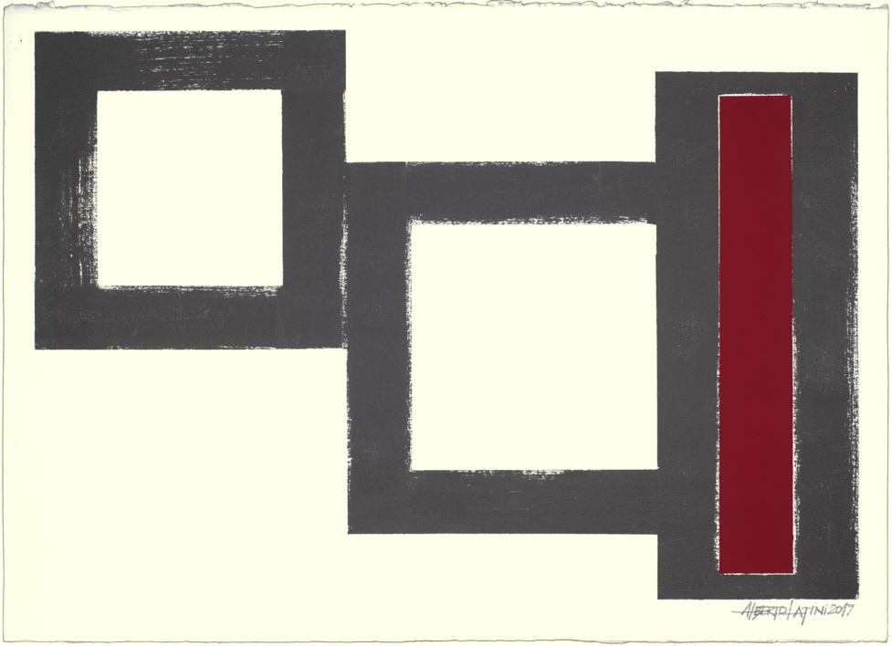 GEOMETRIC 17-01 |Pintura de alberto latini | Compra arte en Flecha.es