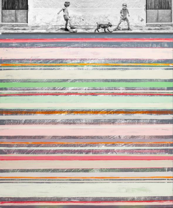 Marcos o el paso del tiempo |Pintura de Susana Sancho | Compra arte en Flecha.es