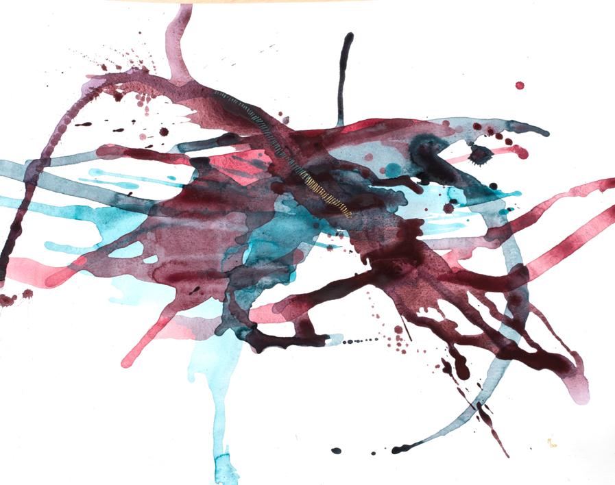 Golden Wounds XVII |Pintura de Mina Cid | Compra arte en Flecha.es