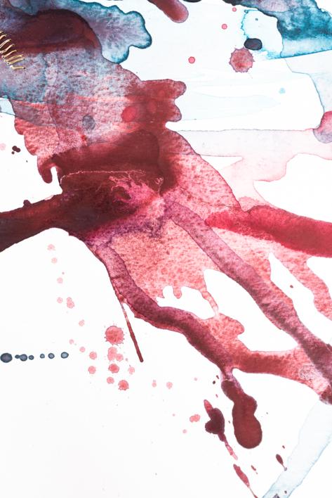 Golden Wounds XVII | Pintura de Mina Cid | Compra arte en Flecha.es