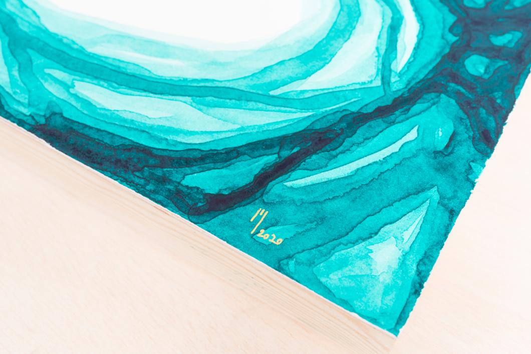 Nebula VII | Pintura de Mina Cid | Compra arte en Flecha.es